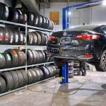 Tire replacement shop